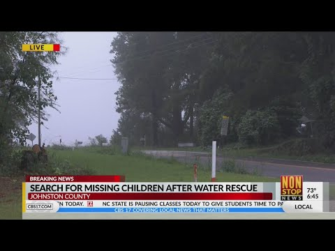 Search For Missing Kids After Smithfield Water Rescue