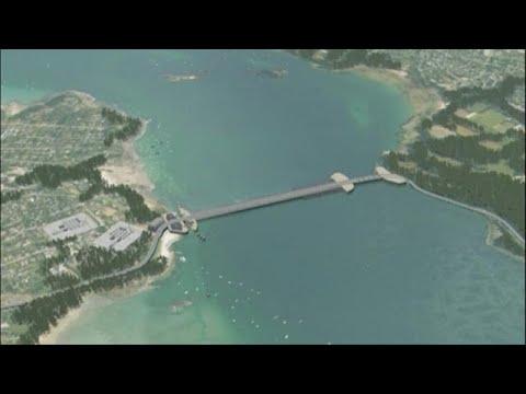 Energie marine : usine marémotrice de la Rance