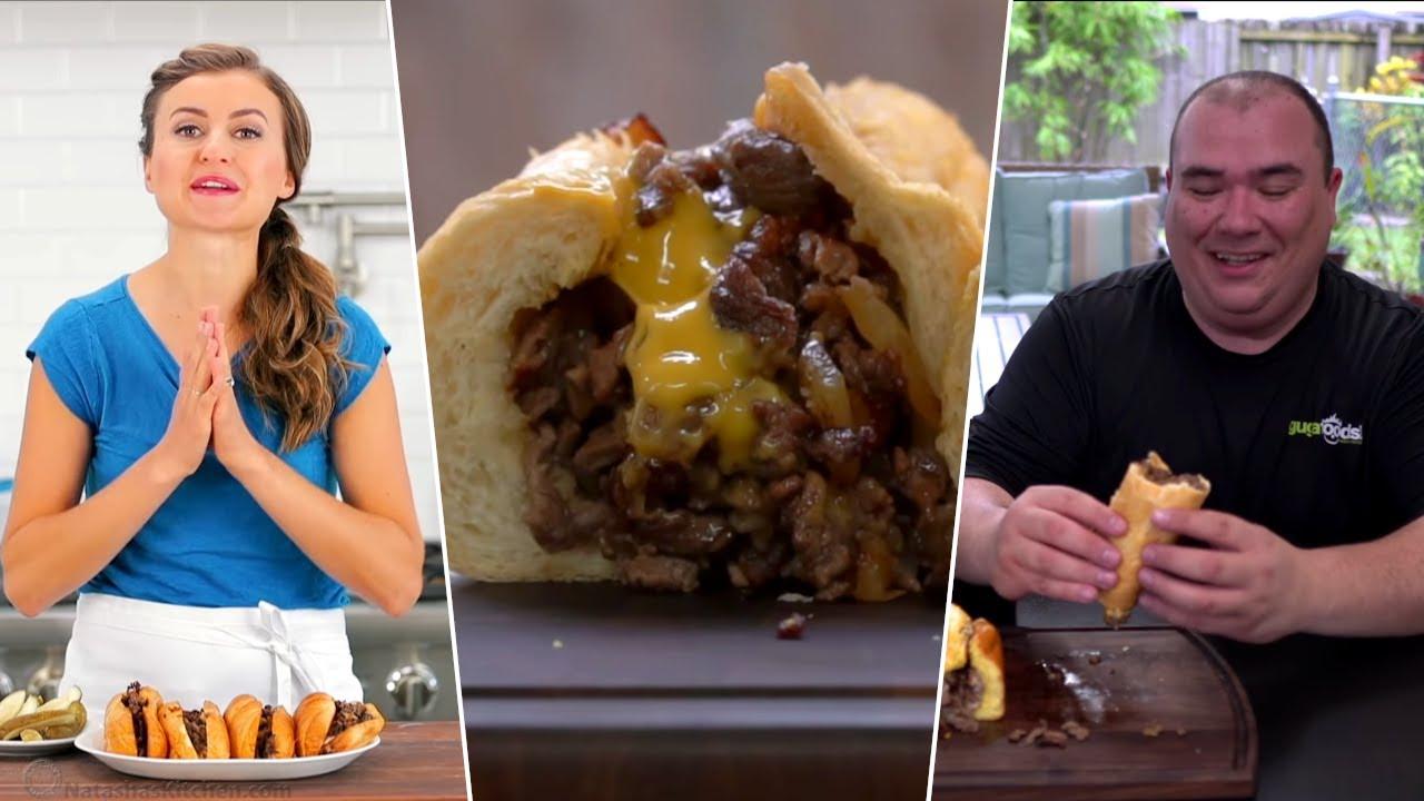 I Tested Everyones Philly Cheesesteaks- Guga Foods, Natashas Kitchen, Tasty, J. Kenji López-Alt