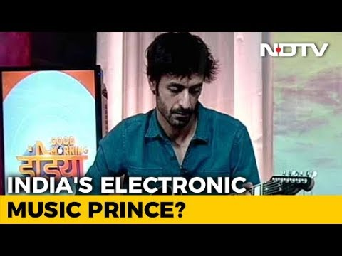 """India's """"Prince Of Electronic Music"""" In NDTV Studio To Show How He Does It All"""