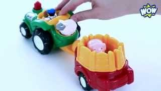 Возим животных на ферму! Грузовичок Берни - WOW TOYS Детские игрушки Kids toys