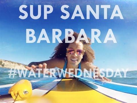 Stand-Up Paddleboarding in Santa Barbara (#WaterWednesday) | Danni Washington