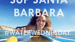 Stand-Up Paddleboarding in Santa Barbara (#WaterWednesday) | Danni Washington