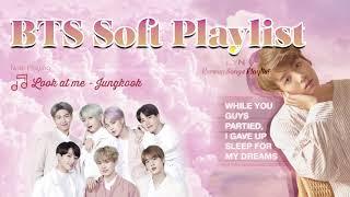 [BTS BALLAD] BTS soft playlist 2021 (chill, study, relax, sleep) 🎵 방탄소년단 발라드 노래모음💜 防弾曲のコレクション