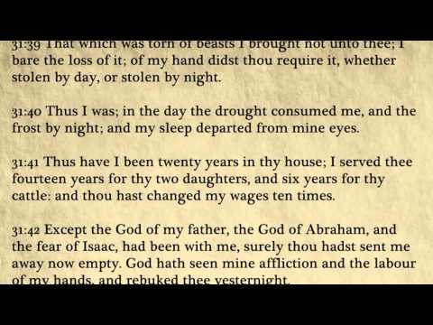 Genesis - King James Bible, Old Testament (Audio Book)