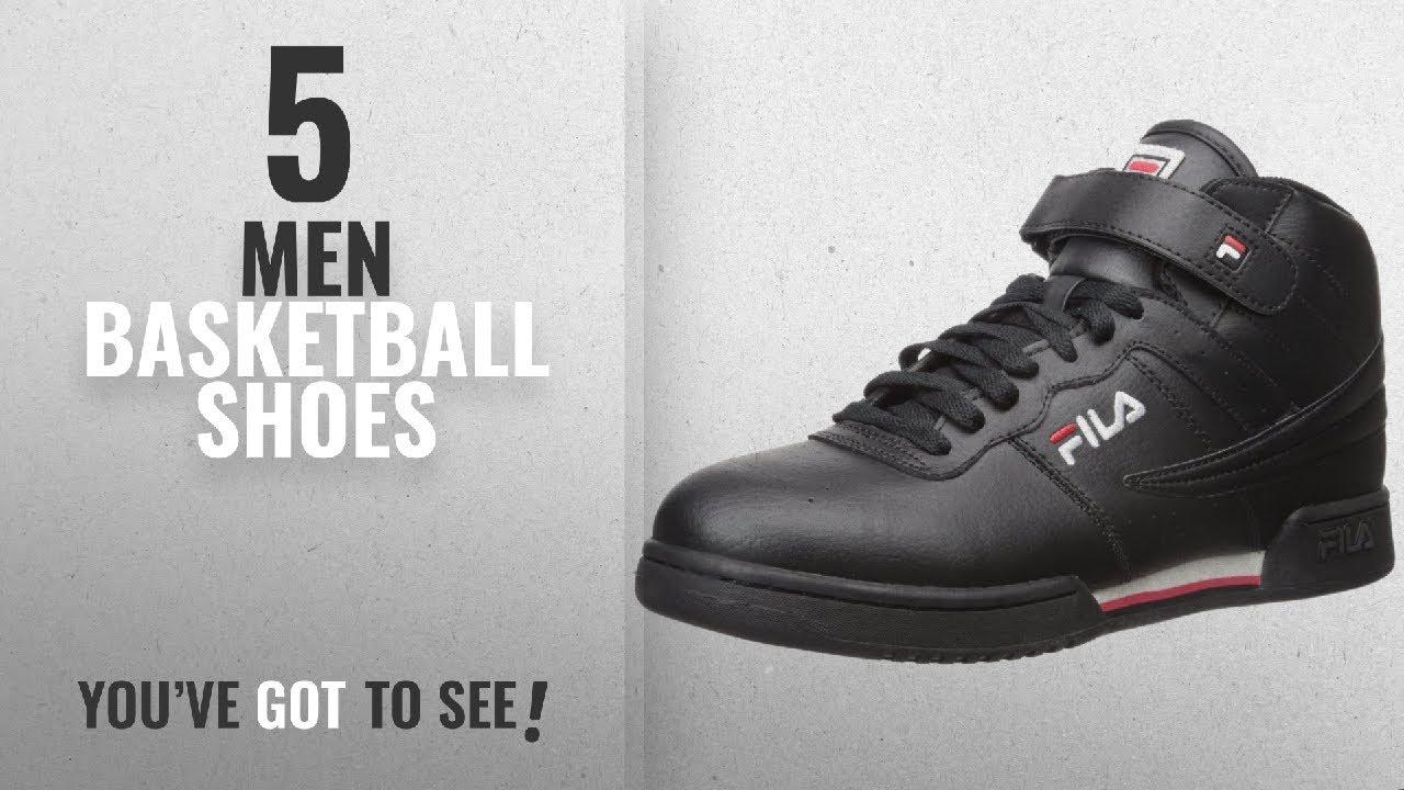 8828fe32 Fila Basketball Shoes [ Winter 2018 ]: Fila Men's f-13v Lea/Syn Fashion  Sneaker, Black/White Red, 13