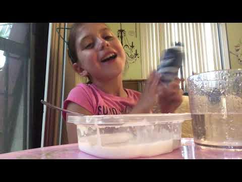Making slime 😊