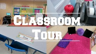 ♡ Teacher Life | My Classroom Tour |