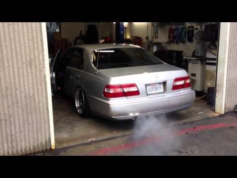 David's Y33 Q45 W/ Straight exhaust