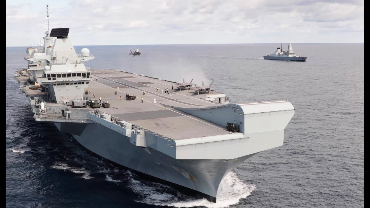 Britain's Biggest Warship