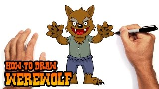 How to Draw a Werewolf | Drawing Lesson