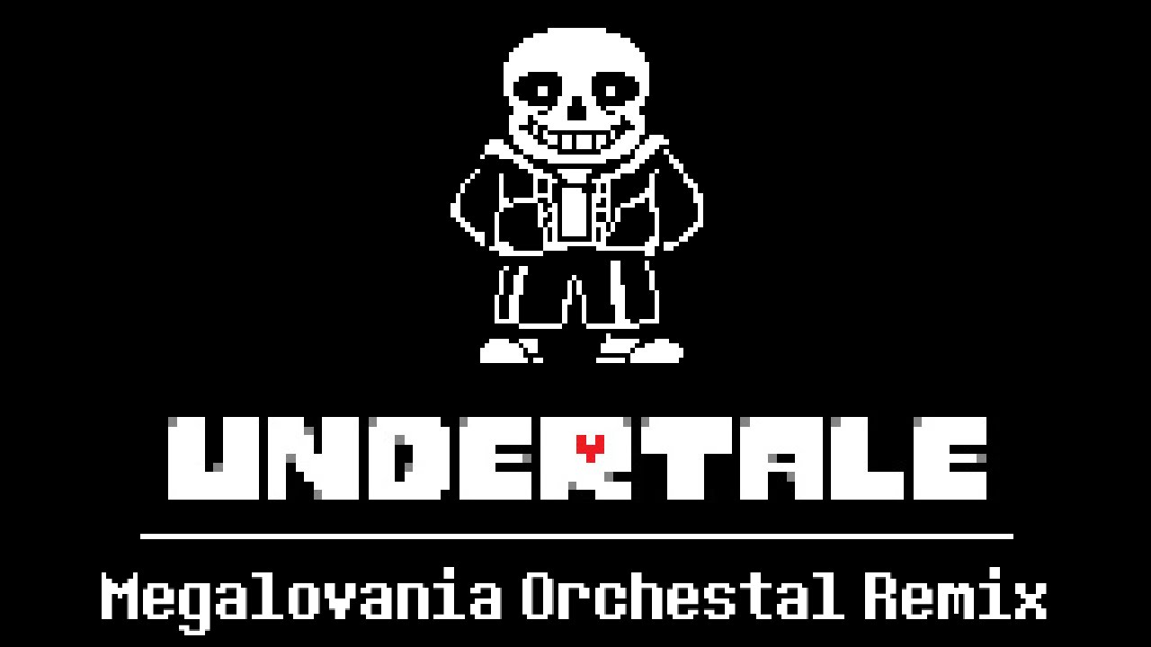 Megalovania orchestral remix undertale youtube