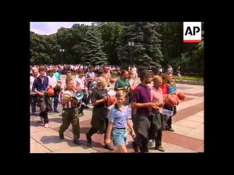 Police in Belarus block rally marking Chernobyl anniversary