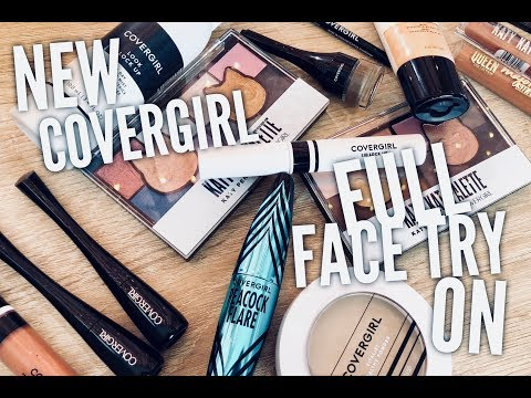 New Covergirl Full Face Try On: First Impressions