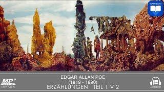 Hörbuch: Erzählungen von Edgar Allan Poe Teil 1 v 2 | Komplett | Deutsch