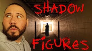 HAUNTED SHADOW FIGURE SCHOOL
