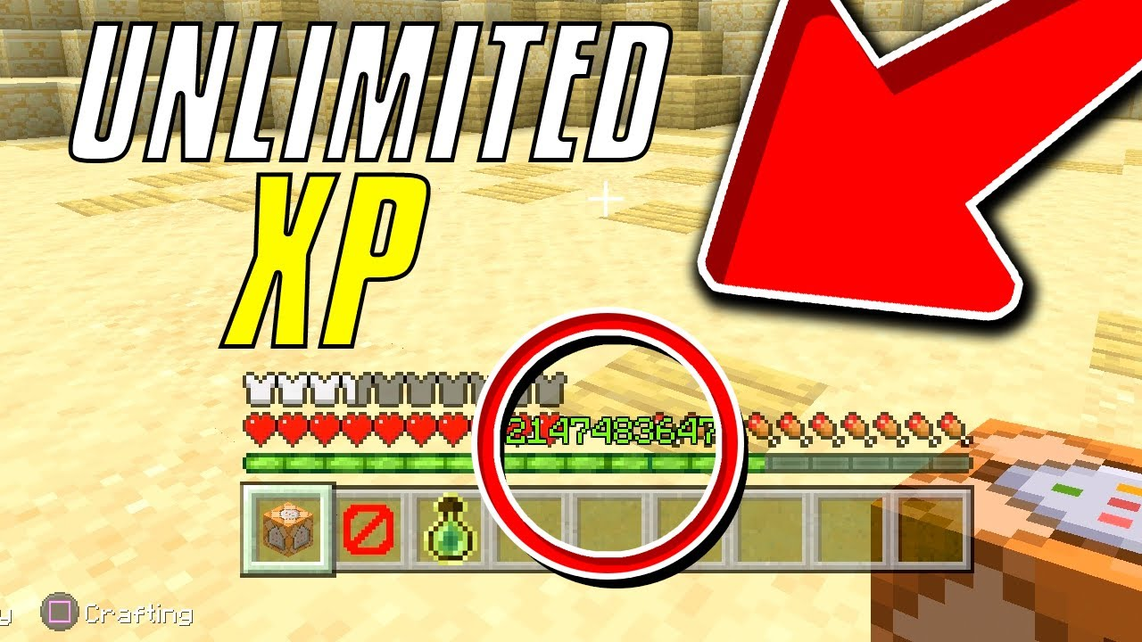 HOW TO GET UNLIMITED XP IN MINECRAFT GLITCH! Get MAX Level! FAST (WORKING)  Minecraft XP GLITCH