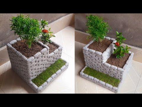 Flower pot making