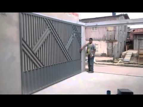 Compact main gate design youtube - Sliding main gate design for home ...