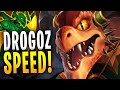 MAX SPEED DROGOZ IS RIDICULOUS! | Paladins Gameplay