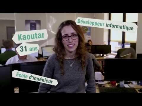 Vidéo de développeur/euse informatique