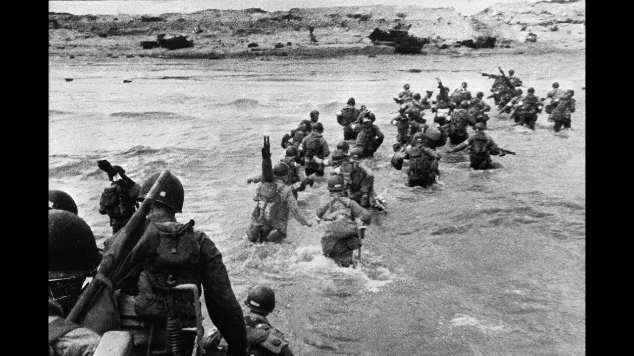 D-Day Anniversary: The First Few Hours Of The Normandy Landings ...