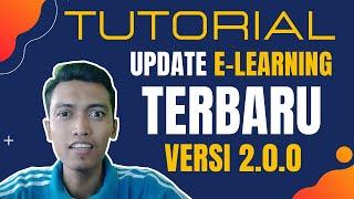 Download Lengkap Banget! Cara Update E-Learning Madrasah Versi 2.0.0 Hosting, Ada Fitur Video Conference Lho.