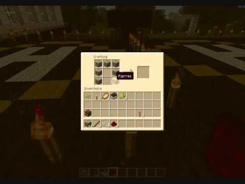 Minecraft comment faire un distributeur tuto 3 youtube - Faire un lit minecraft ...