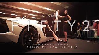 Lamborghini of Montreal : Salon de L'Auto 2016