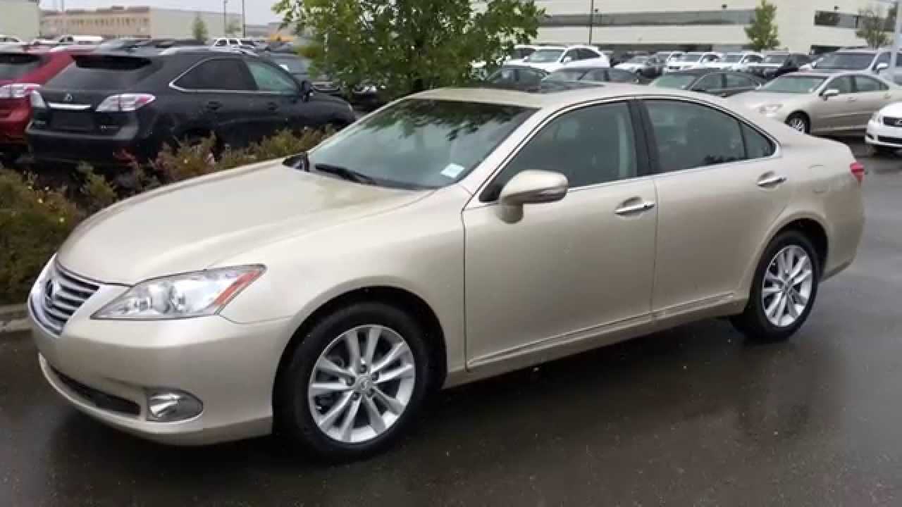 lexus certified pre owned 2011 gold es 350 premium with. Black Bedroom Furniture Sets. Home Design Ideas