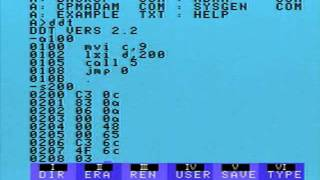 CP/M Assembler DDT - Dynamic Debugging Tool - Coleco Adam