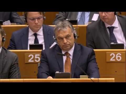 Situation in Hungary - Plenary session from 26/04/2017