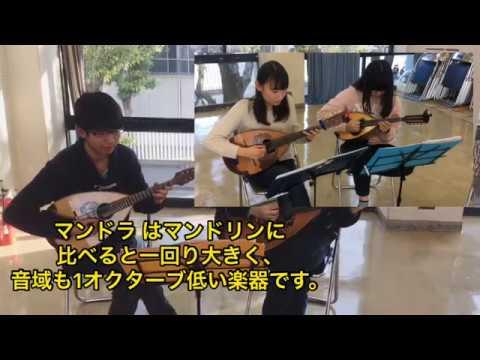 【近畿大学】ギターマンドリンクラブ2019