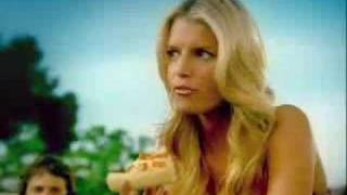 Pizza Hut Comercial Ashlee And Jessica Simpson