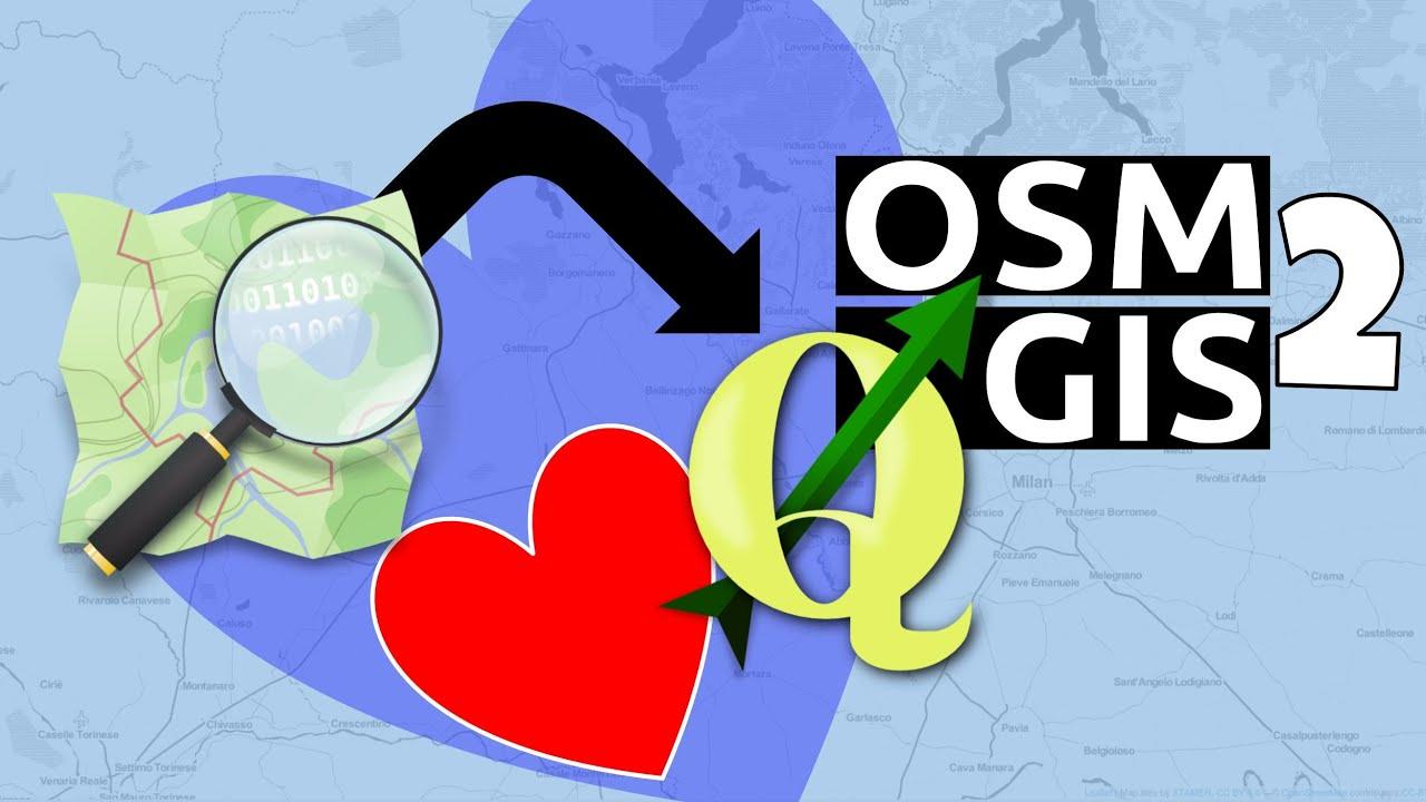 Importare i dati di OpenStreetMap in QGis