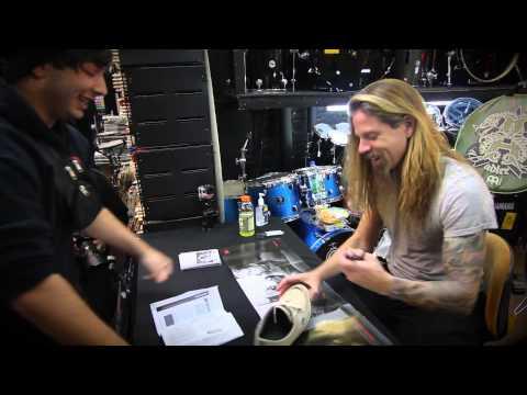 Chris Adler In Store Signing @ Steve's Music Store