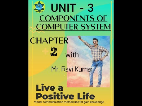 CHAPTER- 2 COMPONENT  OF COMPUTER SYSTEM OF UNIT 3 ICT SKILLS