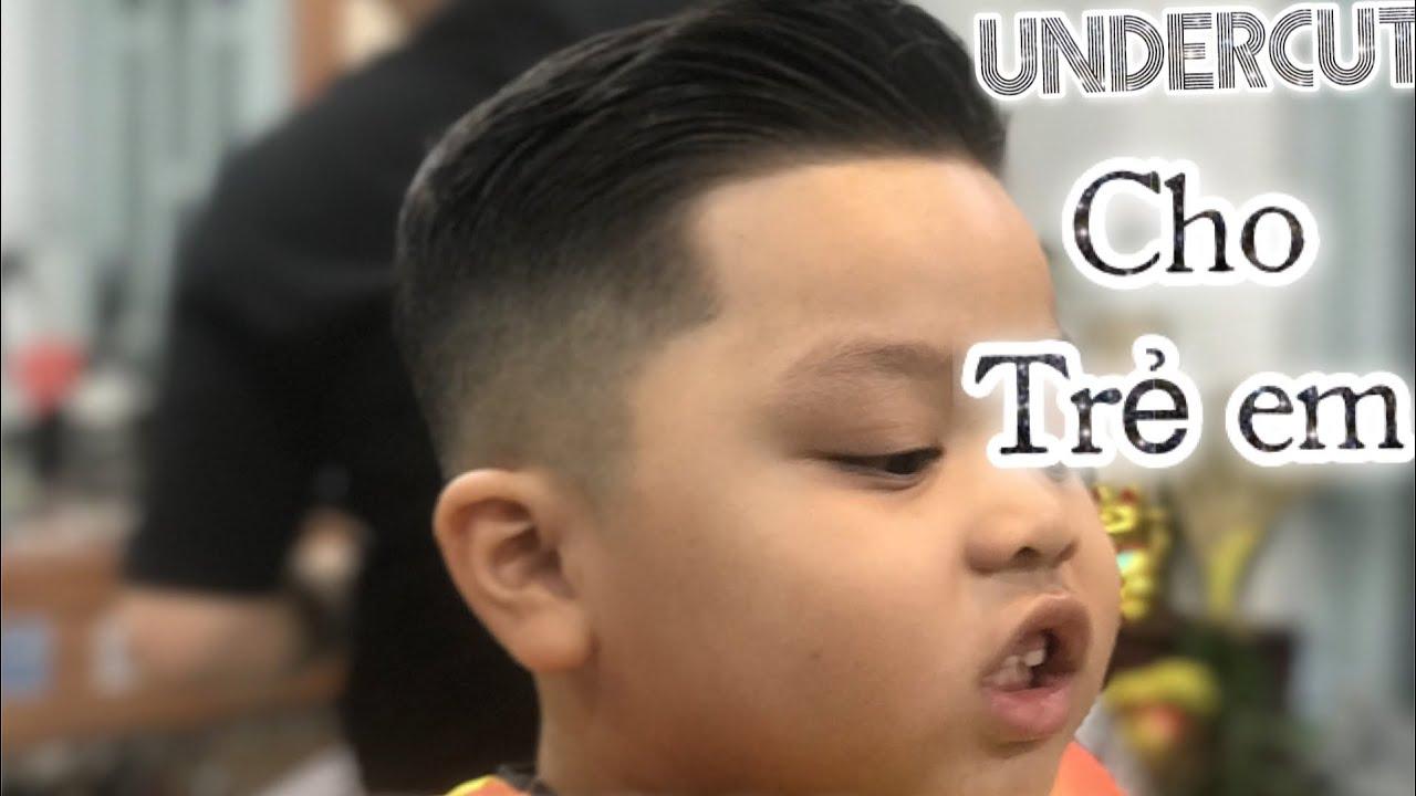 Cắt Tóc Trẻ Em, Đẹp, Ngầu Cực Kì Đơn Giản. (How to cut for Kids) || Long BarberShop