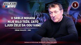INTERVJU: Zoran Pavlović - U Srbiji nikada nije bilo teže, zato ljudi žele da odu vani! (31.1.2019)