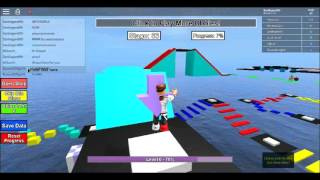 MEGA FUN OBBY/Roblox 970 mega fun obby part 2