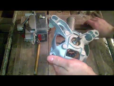 Заменить подшипники на моторе от стиральной машины