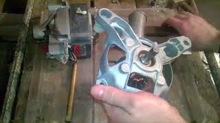видео Замена подшипника электродвигателя