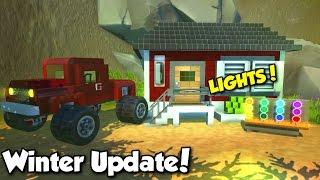 Lights + New Engine Release! - Scrap Mechanic Winter Update 0.2.0