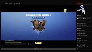 live fortnite save the world gives weapon 'help mission ps4 ( road to 100 abo)