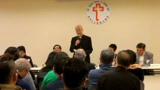2017-3-9天主教教友總會周年大會 湯漢樞機鼓勵堂區成立