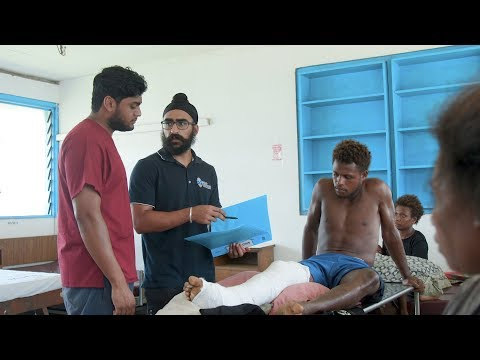 Medical placement in the Solomon Islands