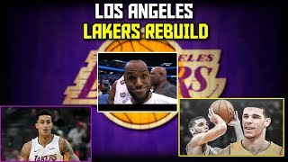 LOS ANGELES LAKERS REBUILD! LEBRON IS THE GOAT!