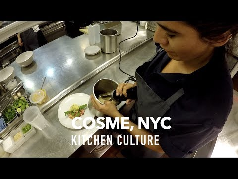 GoProChef: COSME, NYC - KITCHEN CULTURE