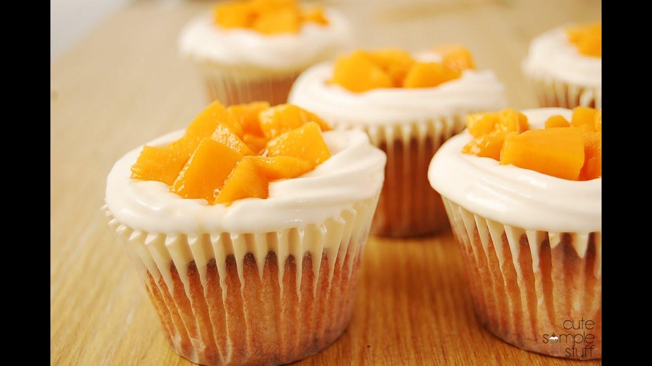 Mango Cream Cake Filling