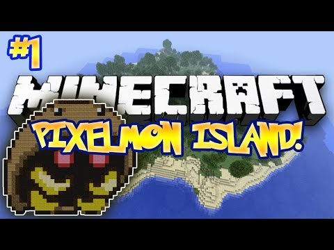 """LET'S BEGIN!"" - PIXELMON ISLAND ADVENTURE! (Minecraft Pokemon Mod) - #1"